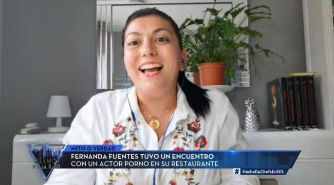 Fernanda Fuentes en Sigamos de largo