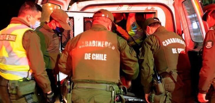 funcionarios de Gobierno detenidos en Concepción