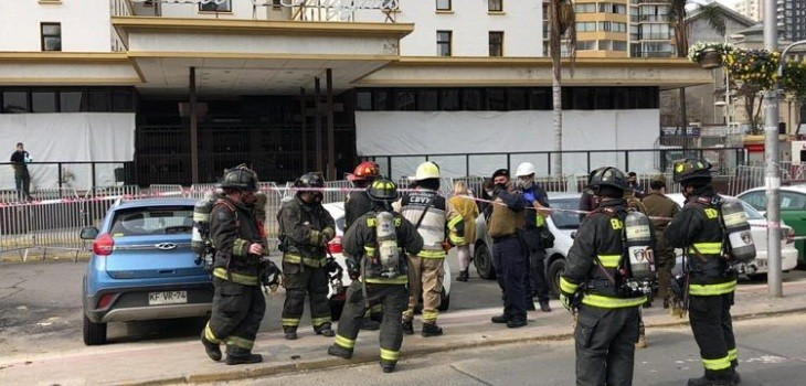 incendio hotel ohiggins