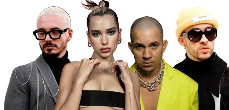 J Balvin se une con Dua Lipa, Bad Bunny y Tainy para su nuevo tema 'Un Día (One Day)'