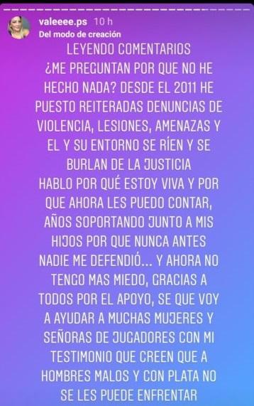 Expareja de Leo Valencia lo denunció por violencia