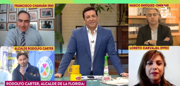 Loreto Carvajal en Contigo en la mañana