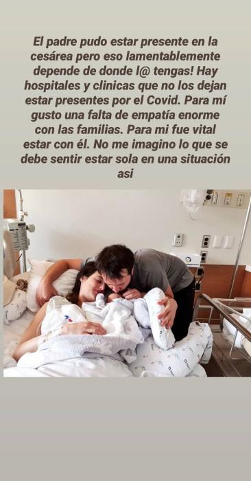 Renata Ruiz y primera lactancia