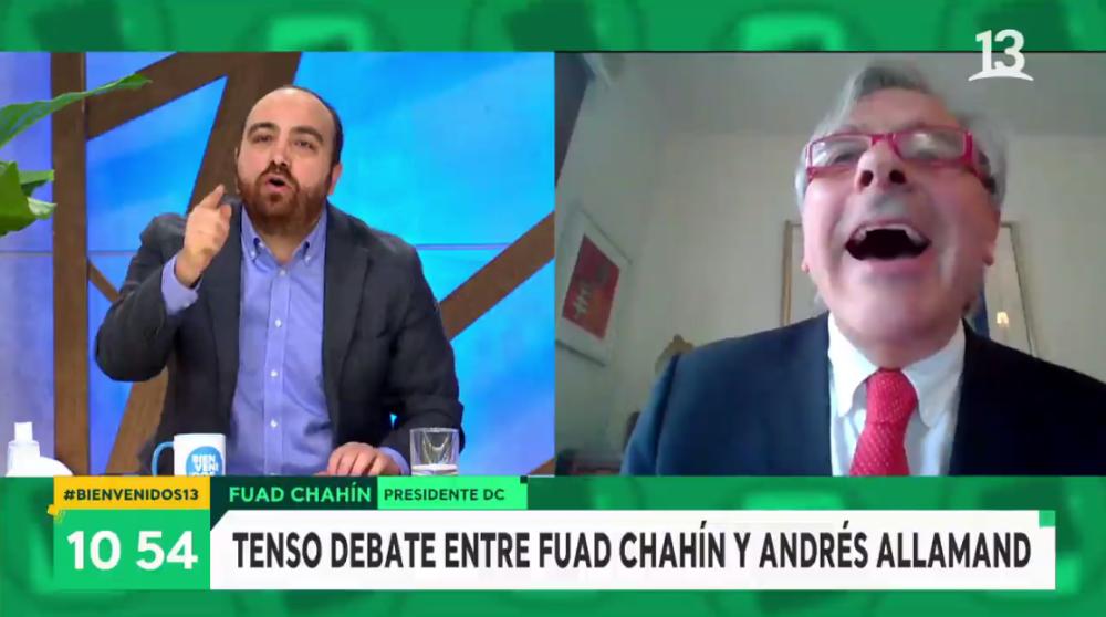 "Áspero cruce de Iván Moreira y Fuad Chahín en 'Bievenidos': ""Eres un mentiroso y un cara de palo"""
