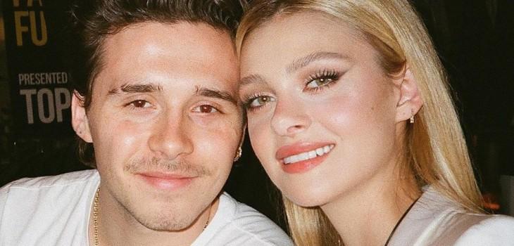 Brooklyn Beckham anunció su compromiso con Nicola Peltz con romántico mensaje y foto en Instagram