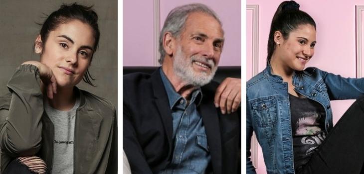 Llevan en talento en las venas: actores que son familia y trabajaron en teleseries de Mega