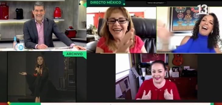 Sacó carcajadas: integrante de Pandora cometió divertido error durante enlace con Bienvenidos