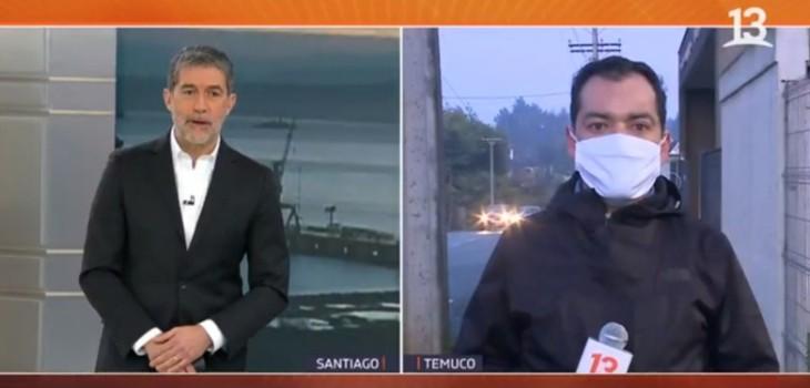 Hijo de periodista desvinculado de Canal 13 por dichos sobre Caso Antonia lo defendió: publicó video