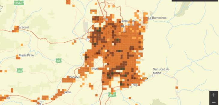 Estas son las zonas con mayor concentración de casos activos de COVID-19 en el país