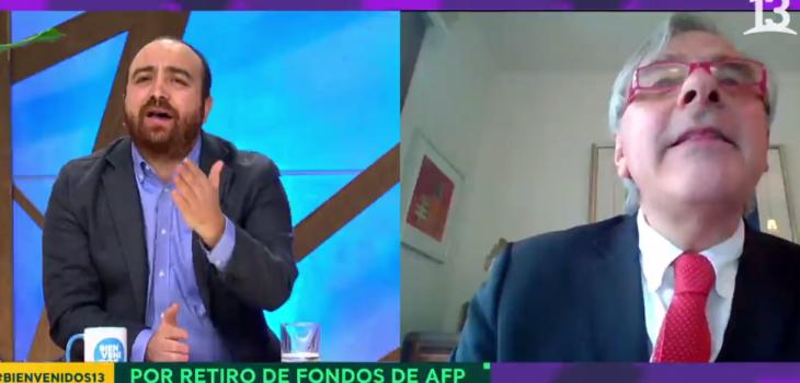 Áspero cruce de Iván Moreira y Fuad Chahín en 'Bievenidos':