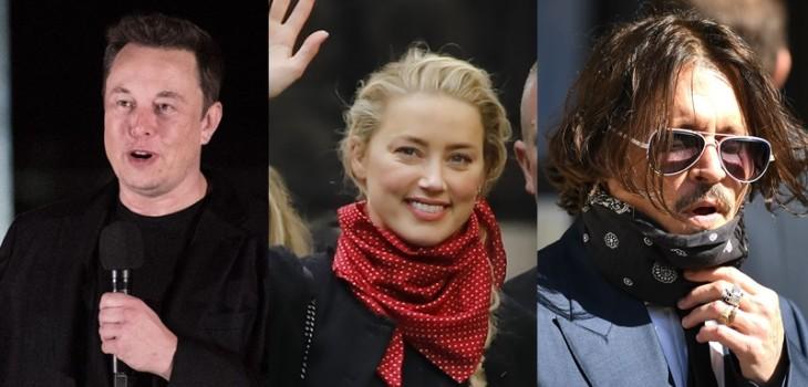 Testigos apuntan que Elon Musk podría haber causado lesiones de Amber Heard y no Johnny Depp