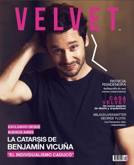 Benjamín Vicuña en Revista Velvet