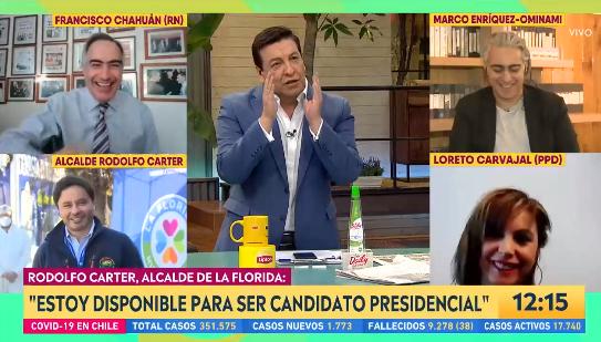 La hilarante frase de JC Rodríguez tras confirmación de alcalde Carter a ser candidato presidencial