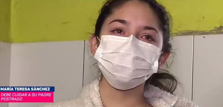 Reportaje de CHV Noticias sobre adolescente que debió asumir cuidado de su familia conmovió en redes