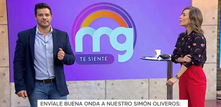 Simón Oliveros se sumó al panel de Mucho Gusto y generó reacciones en redes