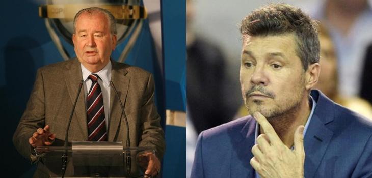 Polémica en el fútbol argentino por filtración de audios entre Julio Grondona y Marcelo Tinelli