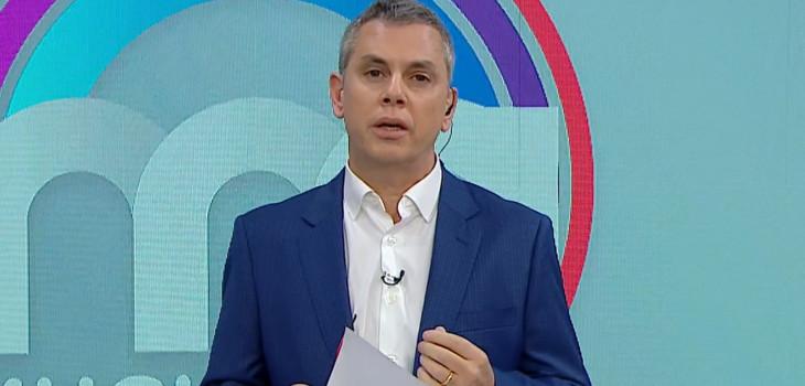 Mega toma medida con Viñuela tras episodio con camarógrafo: ya no será animador de Mucho Gusto