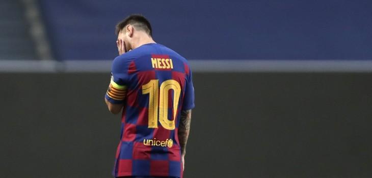 Messi le comunicó al Barcelona que quiere dejar el club