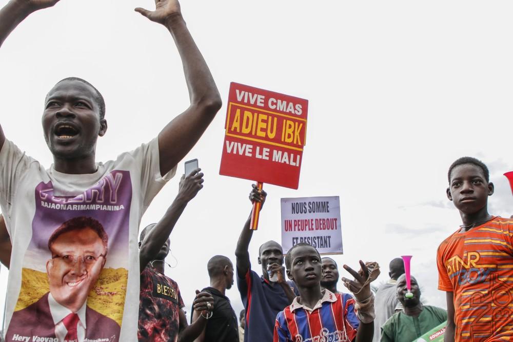 Manifestantes en plaza de la Independencia | Agence AFP