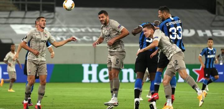 Inter golea a Shakhtar y es finalista de la Europa League