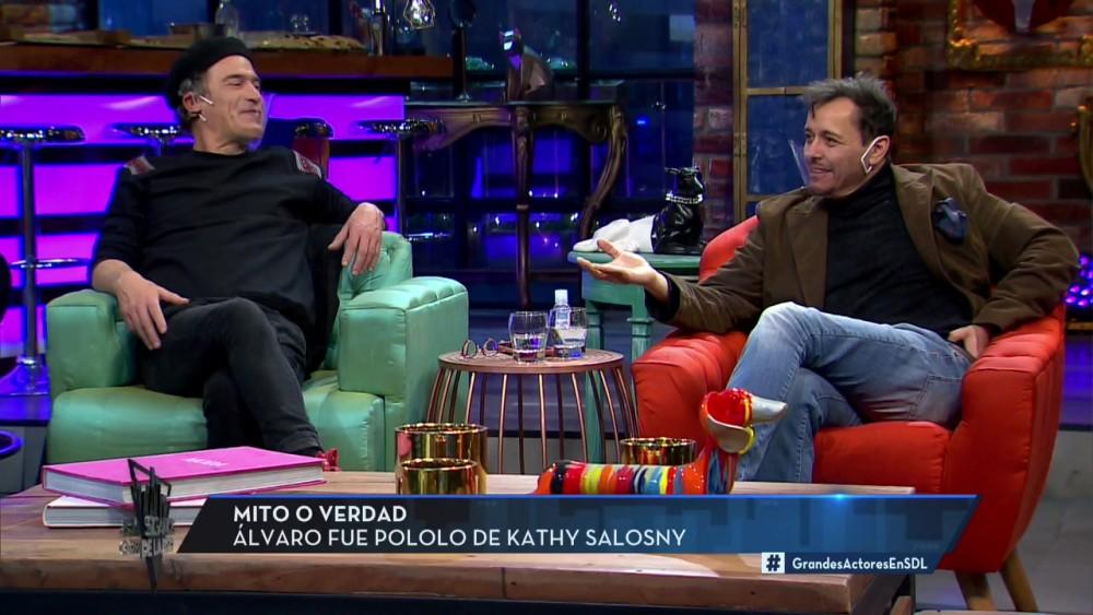 Álvaro Morales en Sigamos de largo
