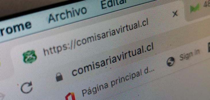 Usuarios reclaman por mal funcionamiento de Comisaría Virtual