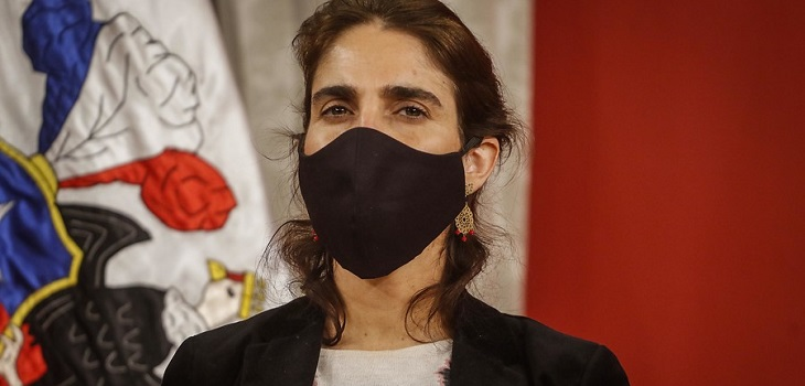 Maria Jose Zaldivar, ministra del Trabajo y Previsión Social