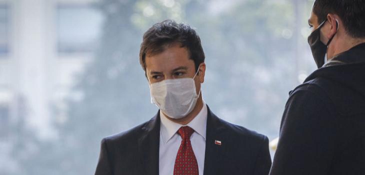 Ministro de economía Lucas Palacios