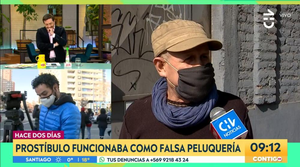 Las bromas de JC Rodríguez y Monserrat Álvarez sobre prostíbulo que tenía fachada de peluquería