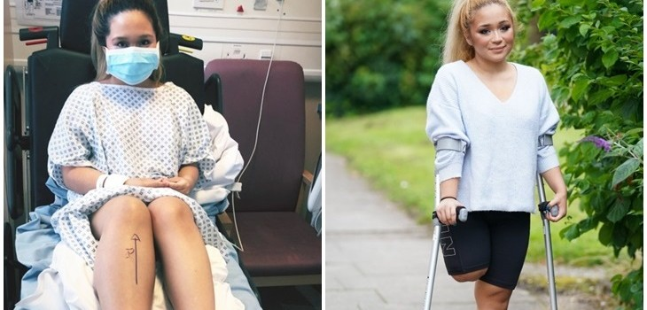 Enfermera Sette Buenaventura | Captura | Metro UK
