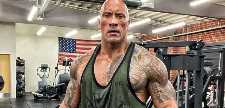 La roca el actor mejor pagado