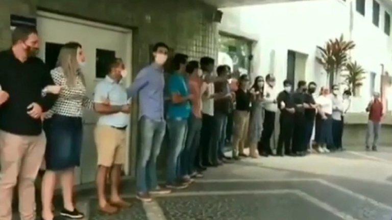 Manifestantes | Captura | O'Globo