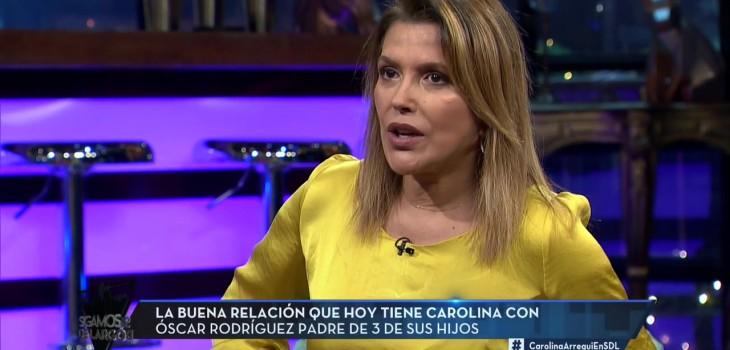 Carolina Arregui y estado de salud de Oscar Rodríguez