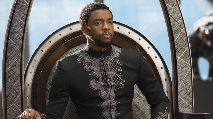Chadwick Boseman en Black Panther