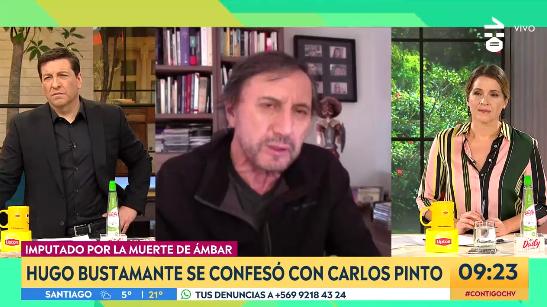 Carlos Pinto recordó entrevista en 'Mea Culpa' a Hugo Bustamante