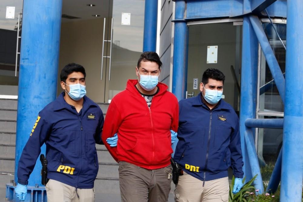 Detienen a cuatro personas por secuestro y agresión en casa okupa de Estación Central