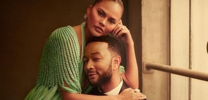 Chrissy Teigen y John Legend anuncian que esperan a su tercer hijo en romántico videoclip