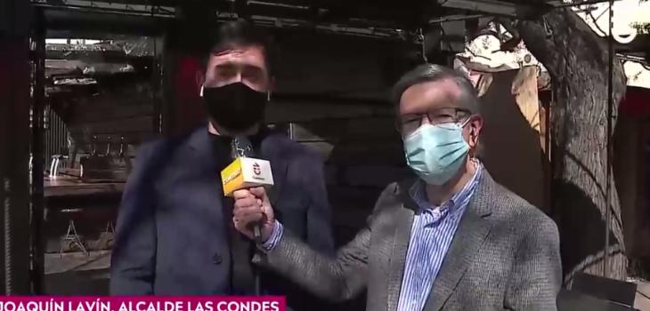 Joaquín Lavín notero: las reacciones que dejó nueva participación de alcalde en Contigo en La Mañana