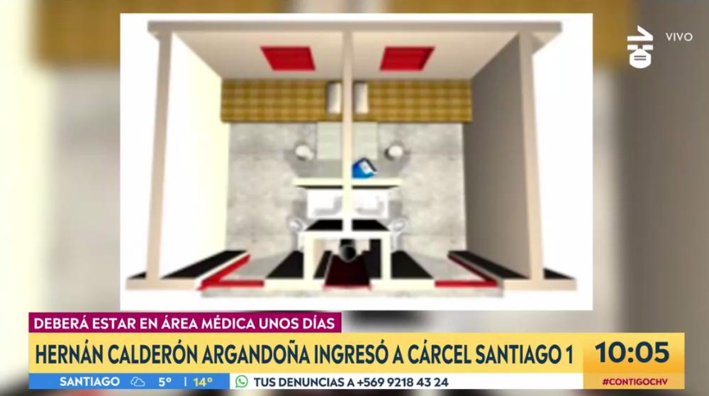 Así es el box donde pasará 14 días Nano Calderón en Área de Salud Ambulatoria de Santiago 1