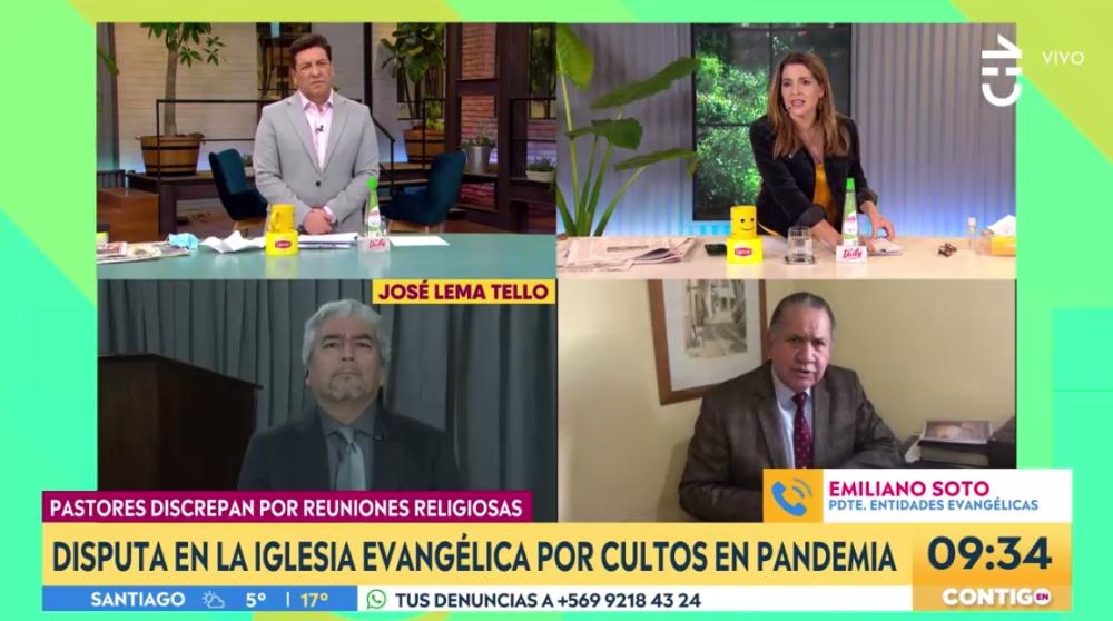 """La """"corrección"""" de JC Rodríguez y Monserrat Álvarez a pastor evangélico que cuestionó cuarentenas"""