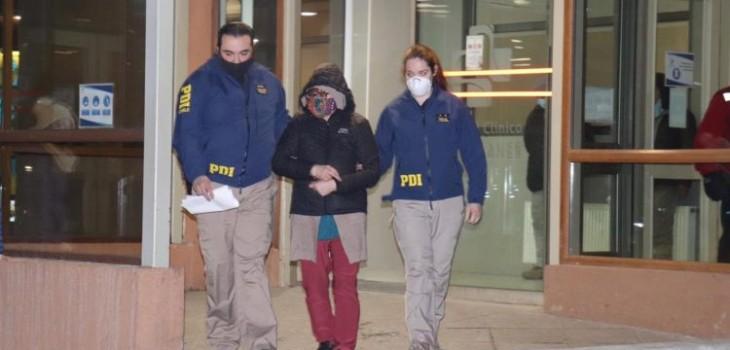 Detienen a mujer y sus dos hijos por presunta responsabilidad en muerte de marido en Punta Arenas