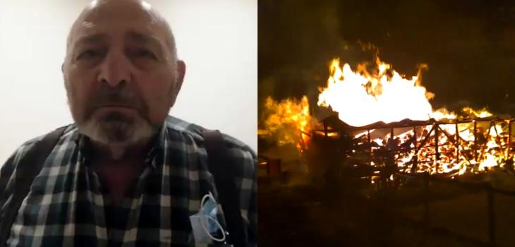 Fuad Chahín padre invita a quienes quemaron su predio a