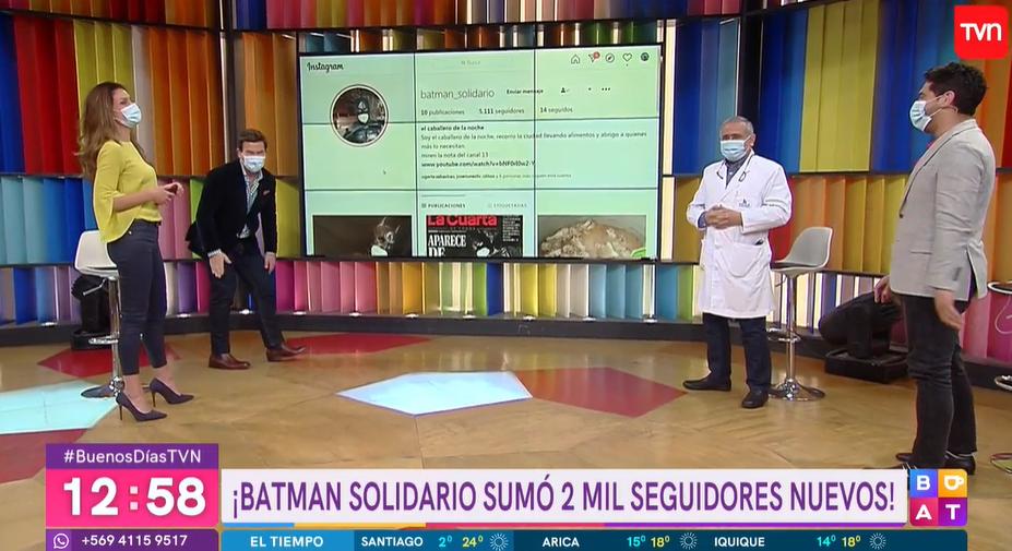 doctor Ugarte lanzó divertida broma a Ignacio Gutiérrez