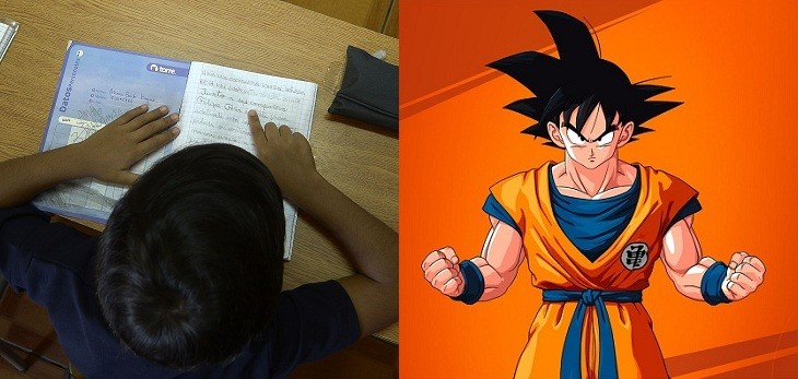 profesor clases fisica dragon ball