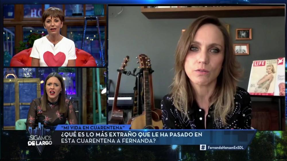 Fernanda Hansen en Sigamos de largo