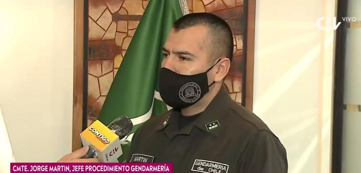 Gendarmería reveló detalles de estadía y comportamiento de Nano Calderón en clínica psiquiátrica