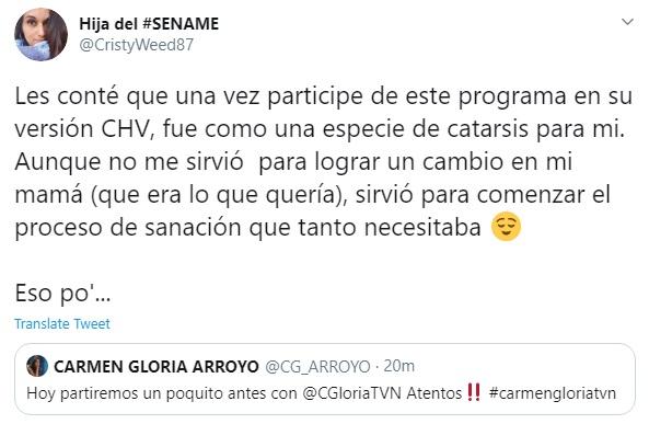 Twitter | Carmen Gloria Arroyo