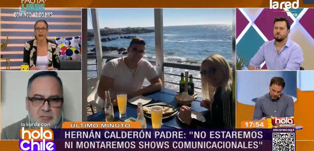 Hernán Calderón y su escueto mensaje ante querella por abuso sexual