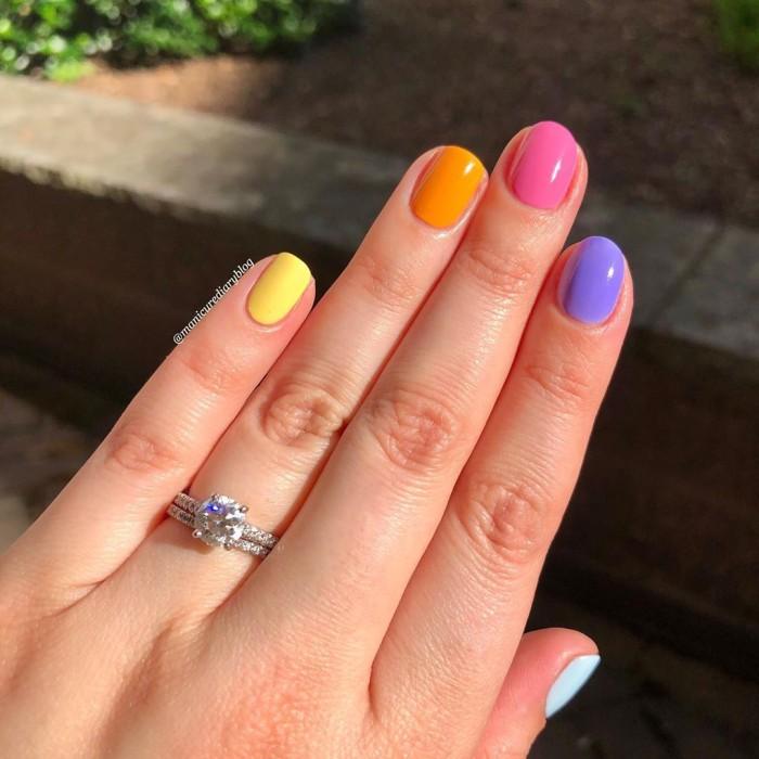 Para todos los gustos: los lindos diseños para uñas cortas que debes probar