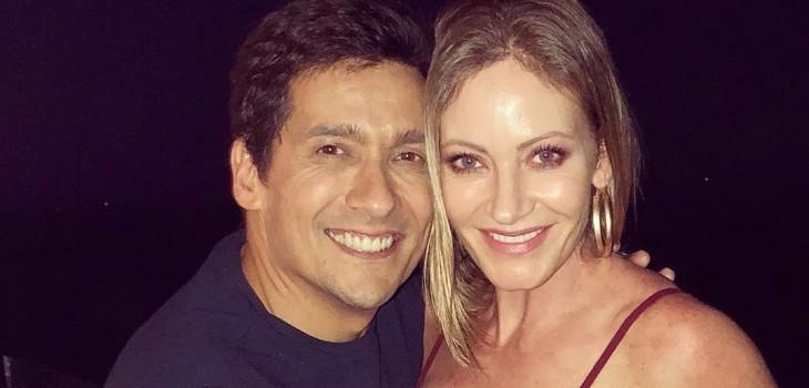 Marcela Vacarezza y Rafa Araneda están en Miami